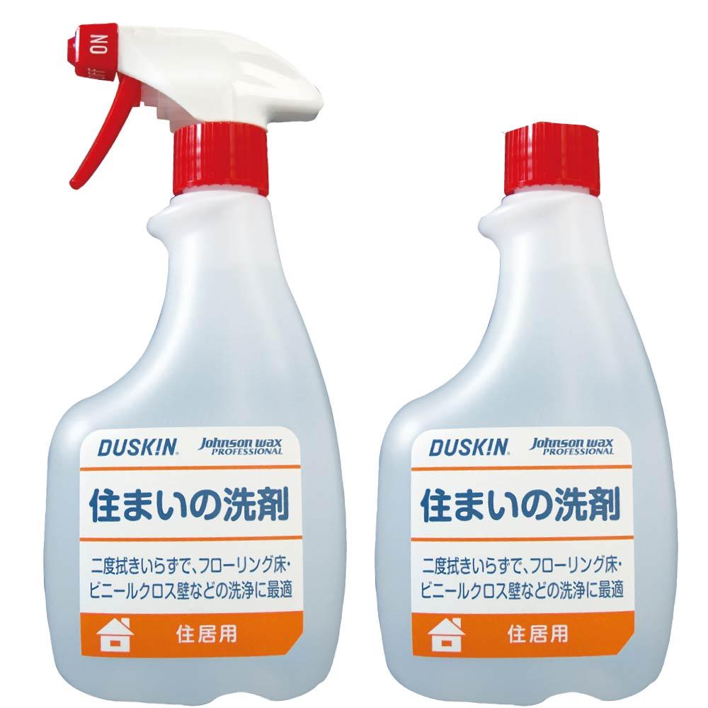 日本DUSKIN 萬能清潔劑 (含噴頭) 500ml/瓶+補充瓶500ml/瓶