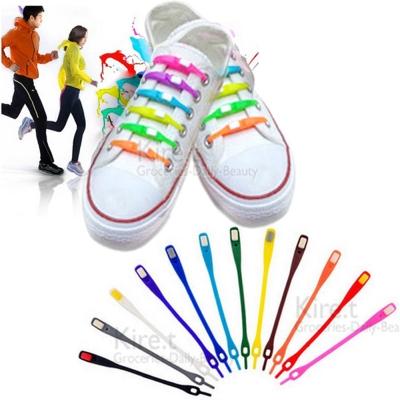 【超值12入】鞋帶 魔術鞋帶-懶人鞋帶 矽膠鞋帶