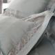 義大利La Belle 雙人天絲蕾絲防蹣抗菌吸濕排汗兩用被床包組-法蘭克 product thumbnail 1