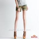 BRAPPERS 女款  Boy Friend Cargo 系列-女用迷彩熱褲-迷彩