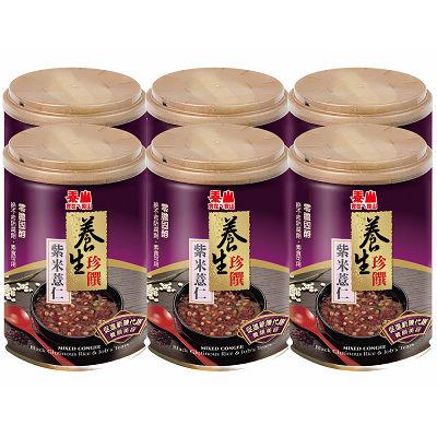泰山 養生珍饌-紫米薏仁粥255g(6入)