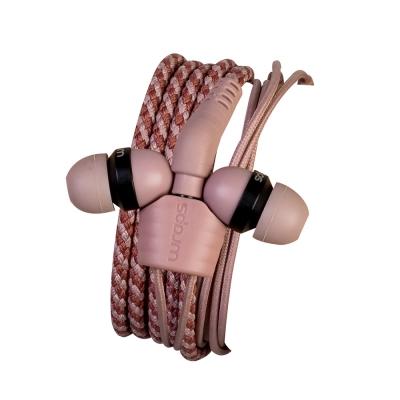 亞果元素 Wraps 手環耳機  Limited 粉彩時尚編織系列