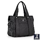 74盎司 Simple 多夾層設計手提側背包[LG-798]黑