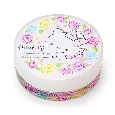 Sanrio HELLO KITTY玫瑰香氛好攜帶多用途保濕霜