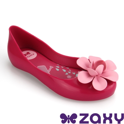 Zaxy 巴西 童 NEW GARDEN休閒娃娃鞋(粉紅)