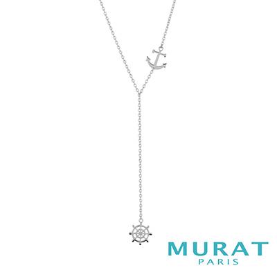 MURAT Paris米哈巴黎 船錨.船舵項鍊(Y字鍊)