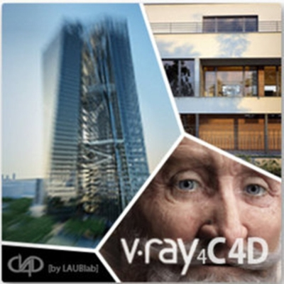 V-RAY for C4d  [5 DR nodes] (渲染)  授權版