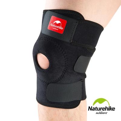 Naturehike 簡易型三段調整 輕薄透氣運動護膝 二只入