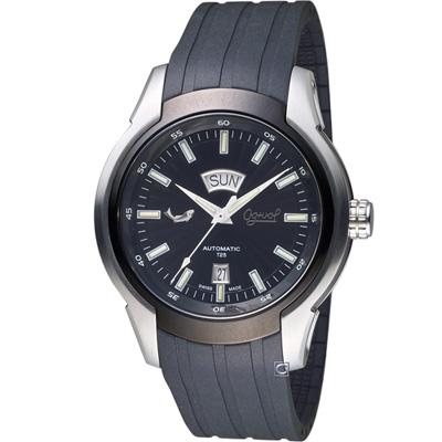 Ogival 愛其華 運動型機械腕錶(826ATGSB)黑/45mm