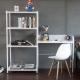 工業風層架書桌