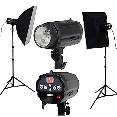FotoOne 玩家創業級閃燈雙燈(PF350A)