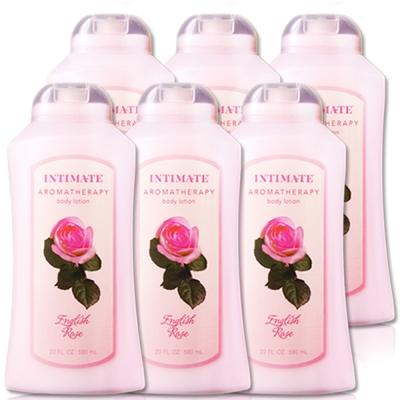 美國Intimate茵她美英倫玫瑰保濕潤膚乳液590ml六入