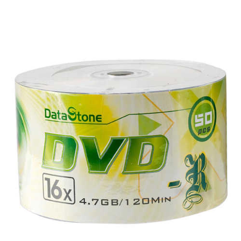 DataStone 時尚銀 A Plus級DVD-R 16X  (100片)