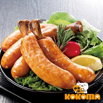 極鮮配 米其林 5 入帶骨德式香腸 ( 375 g± 10 %/ 1 包 5 入)- 4 包