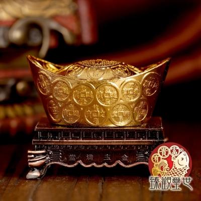 黃金萬兩 旺財聚寶盆擺件