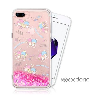 三麗鷗雙子星 iPhone 7/8 plus 亮片流沙手機軟殼 - 海洋