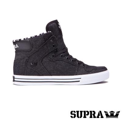 SUPRA Vaider系列男鞋-黑/白