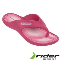 Rider 巴西 大童 CAPE VII KIDS 機能夾腳拖 (蜜桃粉)