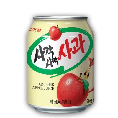 Lotte 樂天蘋果汁(238mlx12罐)