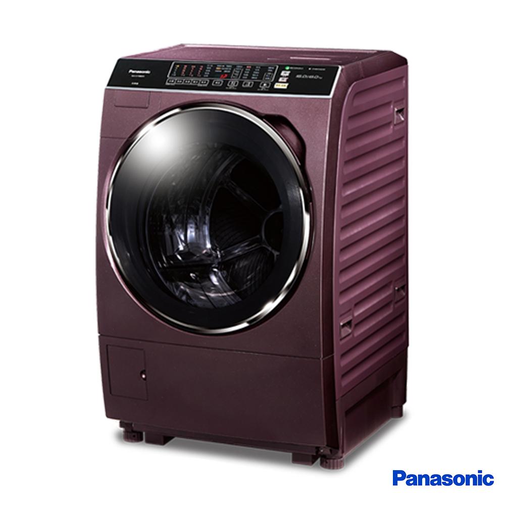 Panasonic國際牌  15公斤 洗脫烘 變頻 滾筒洗衣機 NA-V168DDH