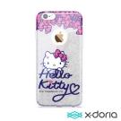X-doria-iPhone6/6s 4.7吋手機保護軟殼炫銀凱蒂系列-萌彩凱蒂