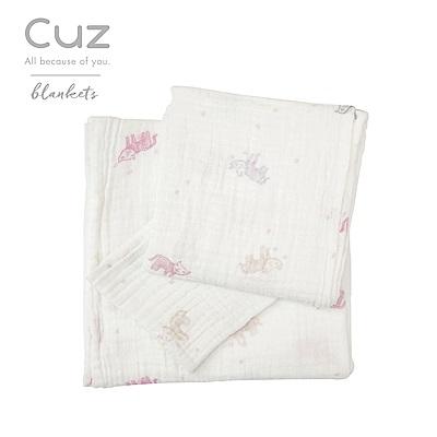 Cuz-水彩貓咪(紗布巾)30cm-2入