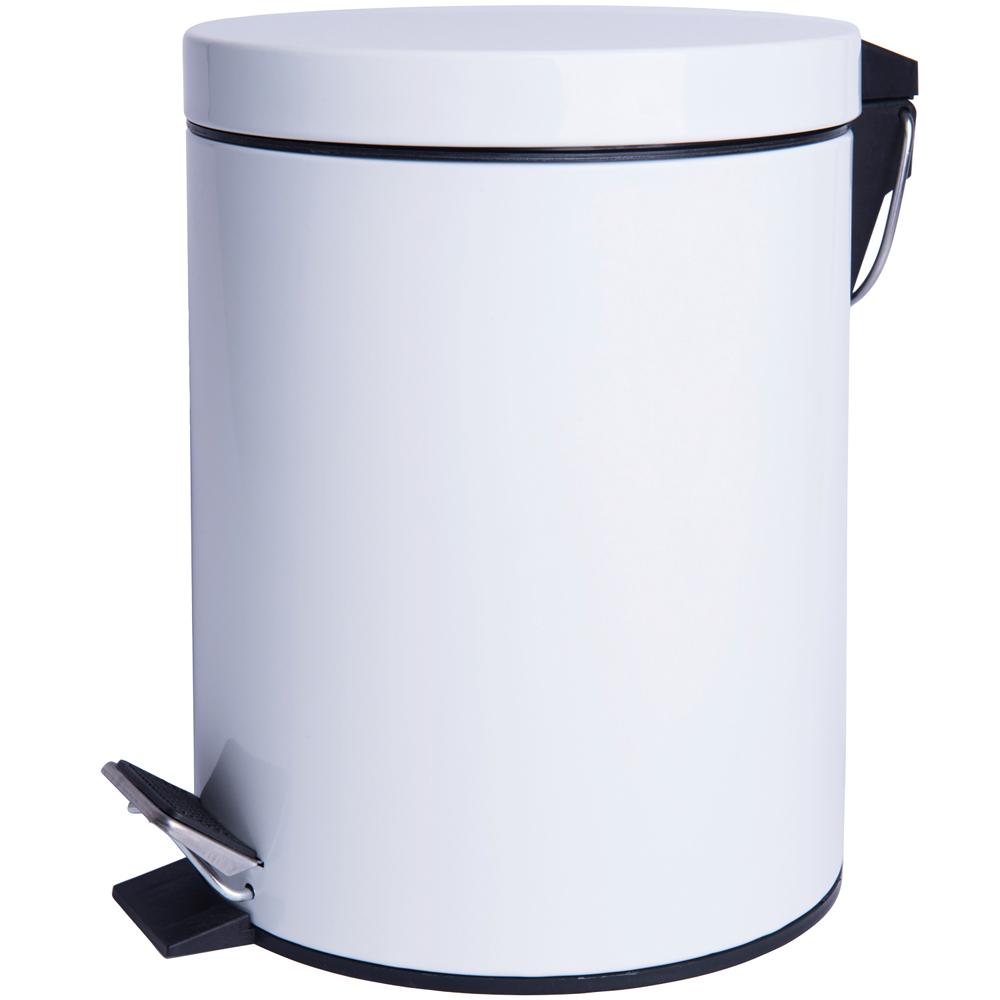 EXCELSA Cleany腳踏式垃圾桶(白12L)