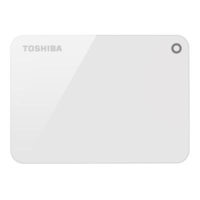 Toshiba 先進碟V9 2TB 2.5吋USB3.0外接式硬碟(清新白)