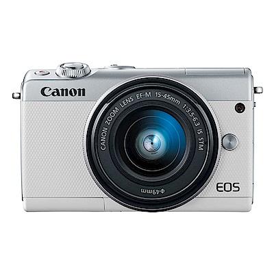 Canon EOS M100 15-45mm STM 相機 公司貨
