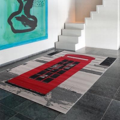 Ambience-比利時Shiraz 現代地毯--電話亭(160x230cm).