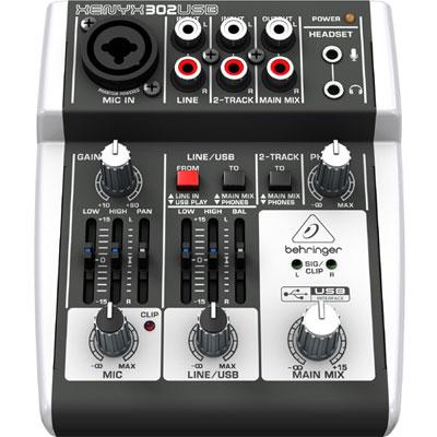 BEHRINGER X302USB 混音器