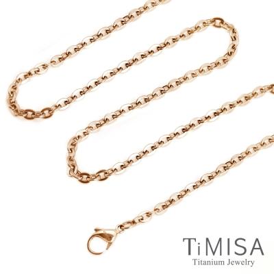 TiMISA 璀璨時刻  玫瑰金  純鈦項鍊