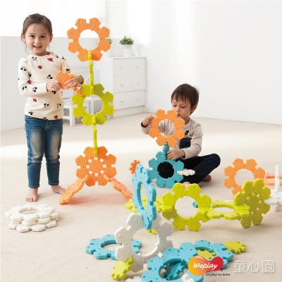 Weplay 雪花拼拼樂(2Y+)
