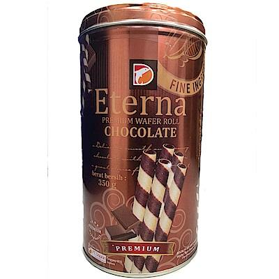 Eterna 爆漿巧克力風味威化捲(350g)