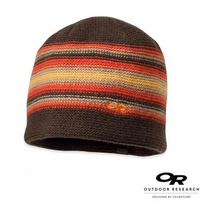 【美國 Outdoor Research】Spitsbergen 防風透氣保暖帽_咖啡/橘