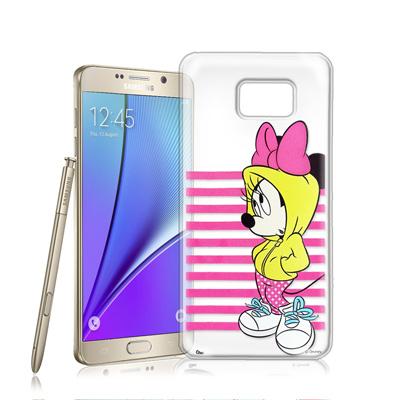 迪士尼Samsung Galaxy Note 5 N9208街頭透明軟式手機殼(...