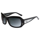 PLAYBOY-時尚太陽眼鏡(黑色)PB83010