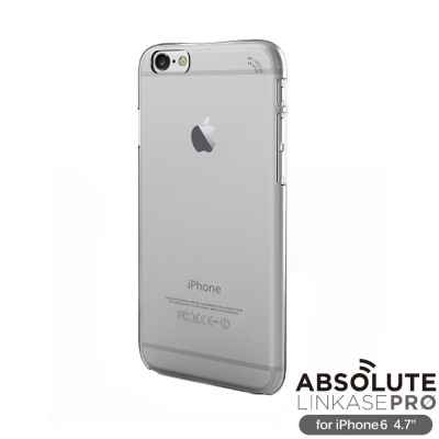 ABSOLUTE Clear iPhone6 4.7 全透明硬質保護殼(附雷射切...