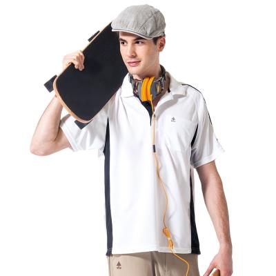 【SPAR】吸濕排汗男版短袖POLO衫(SP48288)白色