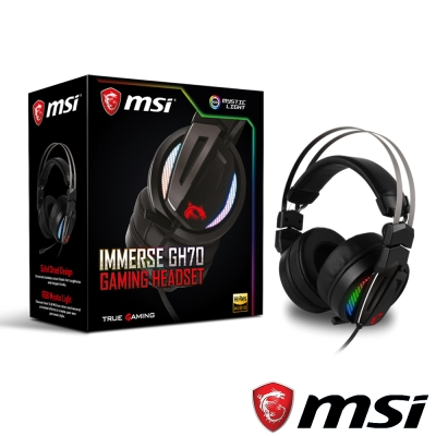 MSI微星 Immerse GH70 GAMING 電競耳機