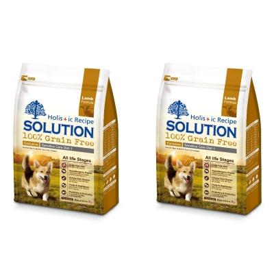 SOLUTION 耐吉斯 成幼犬無穀 澳洲羊肉 低敏柔膚 16磅 7.2kg X 2包
