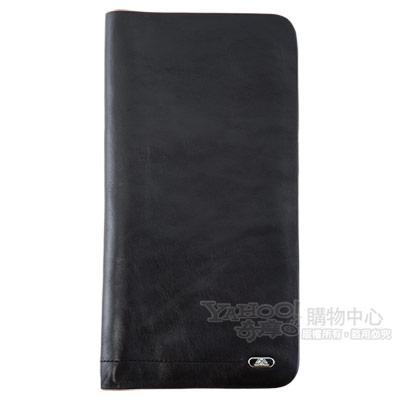 TONY PEROTTI 經典無車縫系列 公牛皮護照夾 #2106 ( 黑色 )