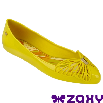Zaxy 巴西-女 FLOW SAP FEM 法式娃娃鞋 (芥末黃)