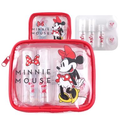 Disney迪士尼旅行瓶罐盥洗化妝萬用米妮包組