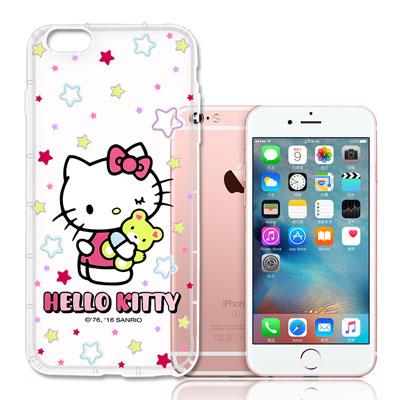 Hello-Kitty-iPhone-6S-4-7吋-彩繪空壓手機殼-星星