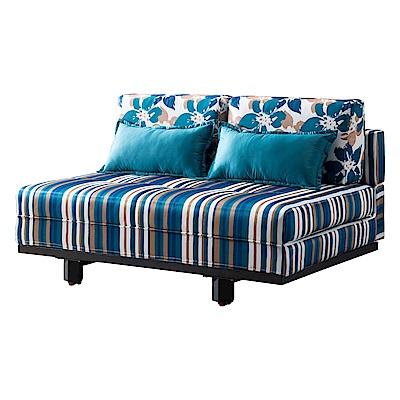 AT HOME-法蘭西斯經典條紋沙發床附靠枕(145*102*69cm)