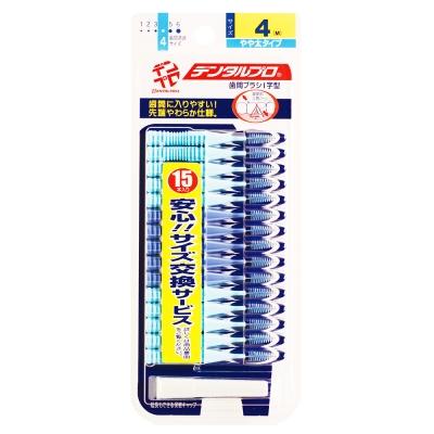 日本JACKS齒間刷15入-4號(M)