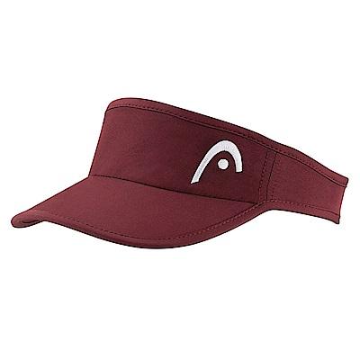 HEAD奧地利 專業級 女性遮陽帽/頂空帽-酒紅  287036