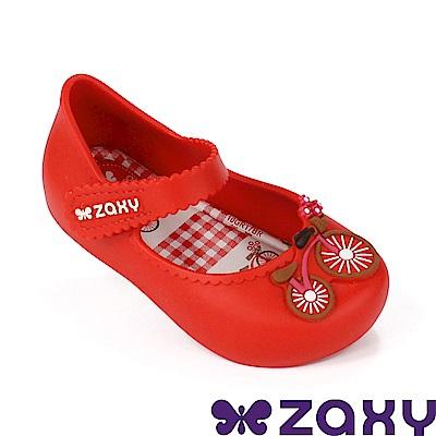 Zaxy 巴西 寶寶童趣郊遊休閒娃娃鞋-紅色