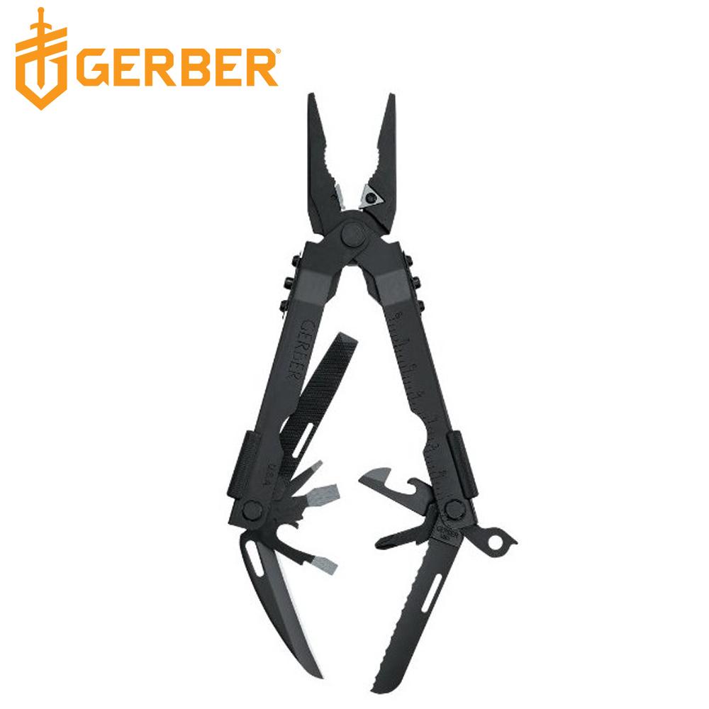 Gerber MP600 多功能隨身尖嘴工具鉗-沉穩黑